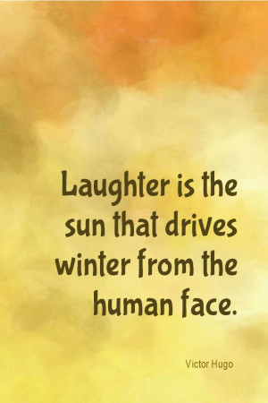 Daily Quotation for January 3, 2014 #quote #quoteoftheday Laughter is ...