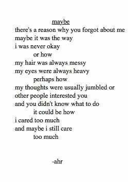 You forgot about me~ |Heartbroken|Breakup quotes|I still miss you|I ...