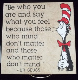 Dr. Seuss Quote in Quotes & Sayings