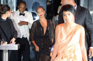 Jay-Z Beyonce Solange Fight