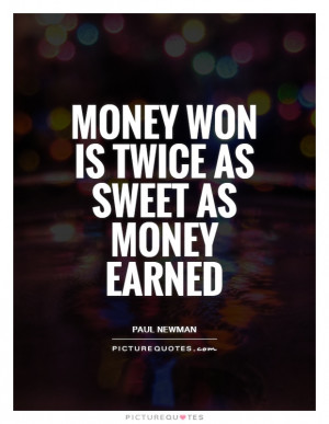 Color Of Money Quotes