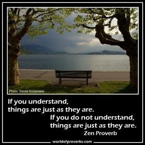 Zen Proverb [19623]