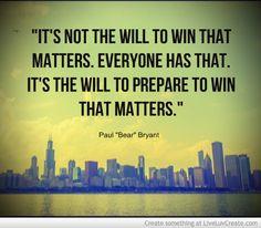 Football Preparation Quotes