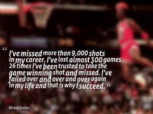 michael jordan inspirational quotes on failure