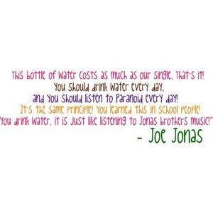 Funny Joe Jonas Quotes Video