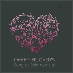Song of Solomon 2:16 More
