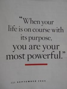 you are your most powerful