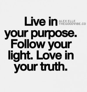 Follow Light Quotes
