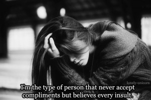 girl mine quote depressed sad alone typo crying insecure i d k
