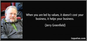 More Jerry Greenfield Quotes
