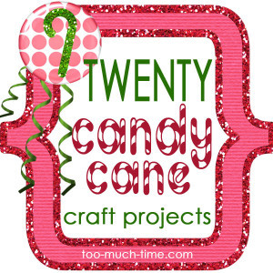 20 candy cane craft projects 1