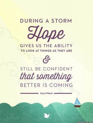 Hope During the Storm