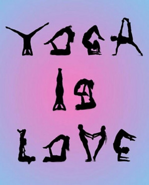 Yoga is love/ I love that my gym offers a variety of classes for my ...
