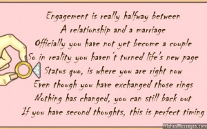 Congrats Engagement Quotes Funny engagement card poems: