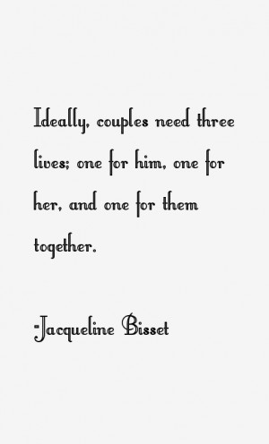 Jacqueline Bisset Quotes Sayings