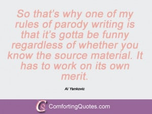 Al Yankovic Quotes