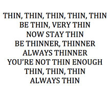 anorexia,inspiration,thin 592618ca908d387478c5227746ddf223 m Pro Ana ...