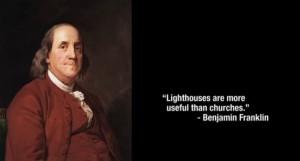 benjamin #franklin #quote #religion