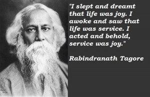 Quotes On Life By Rabindranath Tagore In Bengali: Rabindranath Tagore ...