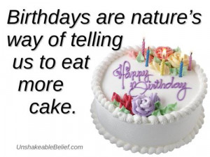 Birthdayquotesfunnycake2. Happy Birthday Quotes For Myself. View ...