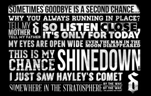 Shinedown Lyrics Shinedown-typograpi