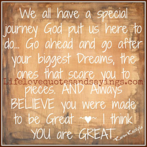 God Made You Special Quotes