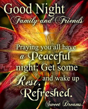 Good Night Christian Scraps