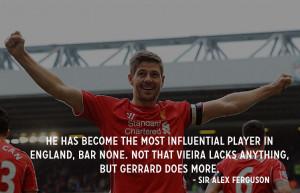Steven Gerrard Will Retire From Liverpool