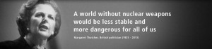 world without nuclear weapons would be less stable and more ...