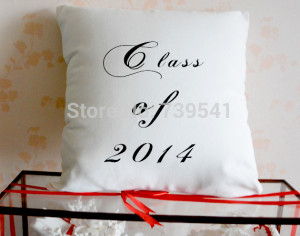 Wholesale Custom Graduation Pillowcase Personalized quote pillow cover ...