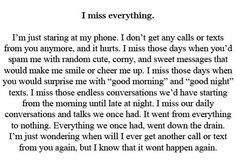 This made me tear up. I don't understand why you won't reply to my ...