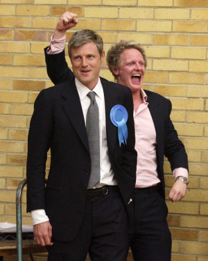 Millionaire Zac Goldsmith won the west London seat of Richmond Park ...