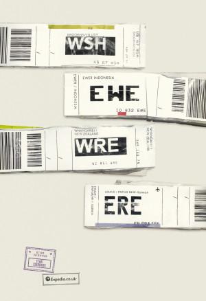 Expedia – Enjoy your flight! (Best Print Cannes Lions 2013)