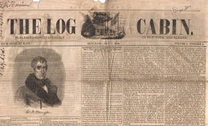 1840: Ad for the Harrison