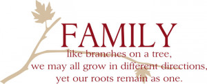 Family Quotes & Sayings on Life | Wall Decals & Stickers, Family ...