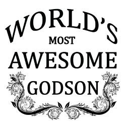 worlds_most_awesome_godson_greeting_card.jpg?height=250&width=250 ...