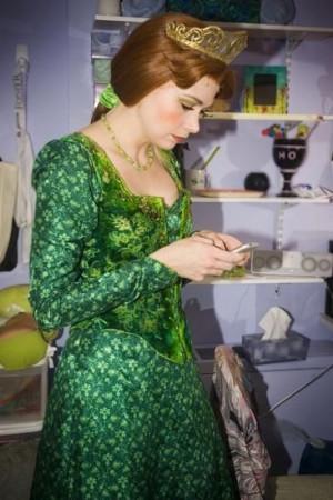 Sutton Foster's Transformation into Shrek's Princess Fiona