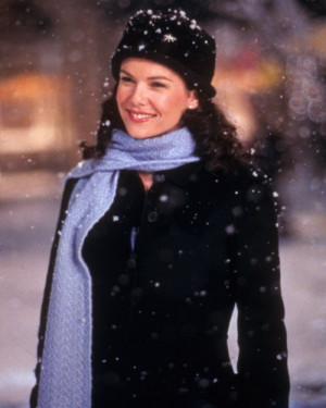 Lauren Graham. Love the Gilmore Girls