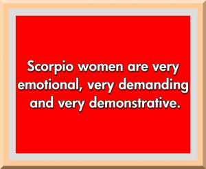 Scorpio Horoscope Quotes Scorpio zodiac quote 1
