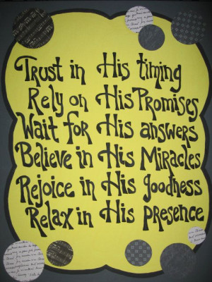 Sayings Sign Canvas Painting Artwork Trust in Him by AntonMurals, $39 ...