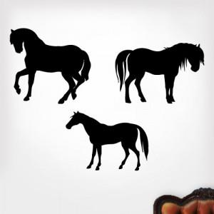 Cutting Horse Silhouette
