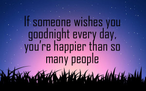 Having someone whisper you goodnight every sleeping time might seem to ...