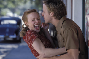 Rachel McAdams & Ryan Gosling the notebook