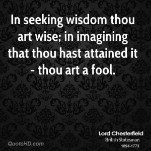 Seeking Wisdom Quotes...