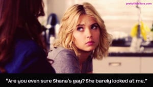 Behold her finest quotes from PLL Season 3 in the photo gallery below ...