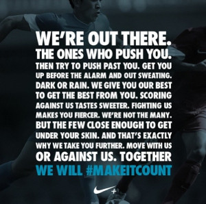 Soccer Quotes Nike Soccer Quotes Nike