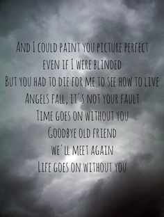 Picture Perfect - Escape The Fate i miss you grandpa