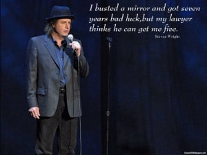 Steven Wright Bad Luck Quotes Images, Pictures, Photos, HD Wallpapers