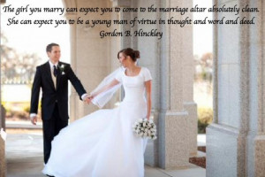 Lds Quote on Marriage.