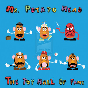Potato Head Pop Star Poster